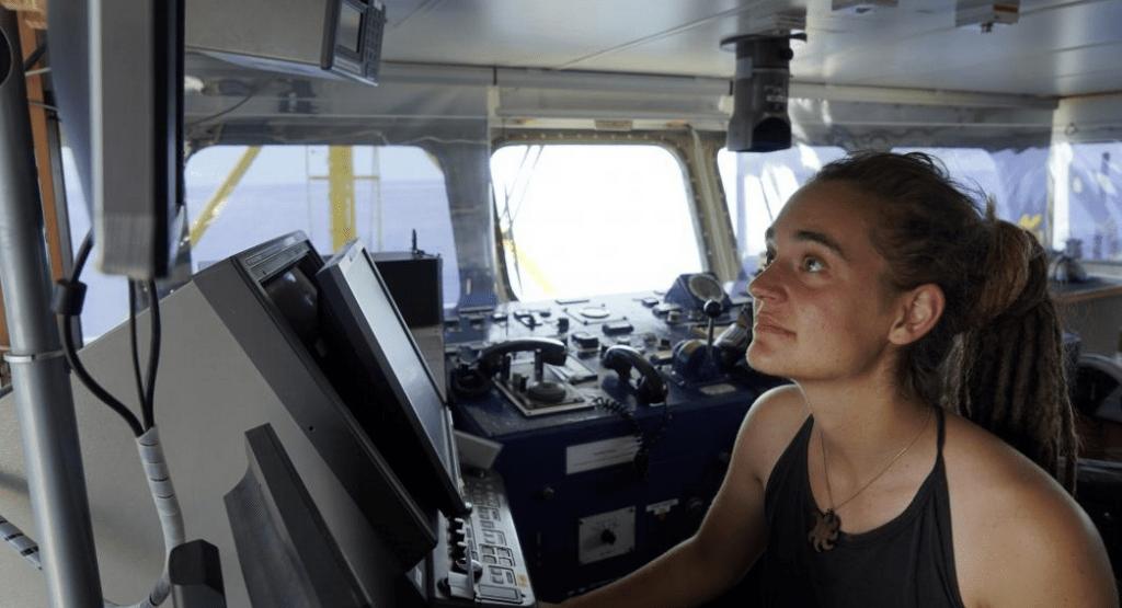 Καρόλα Ρακέτε πλοίαρχος Sea Watch 3