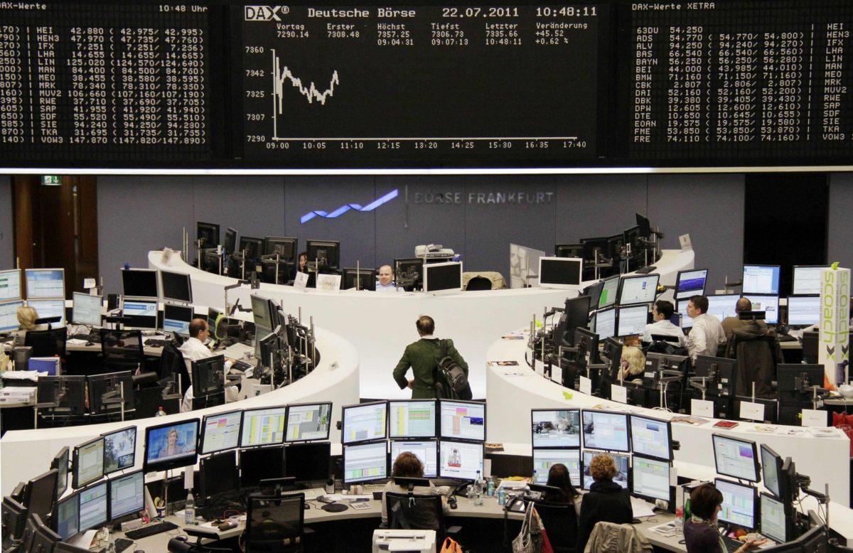 Καθοδικές οι ευρωαγορές