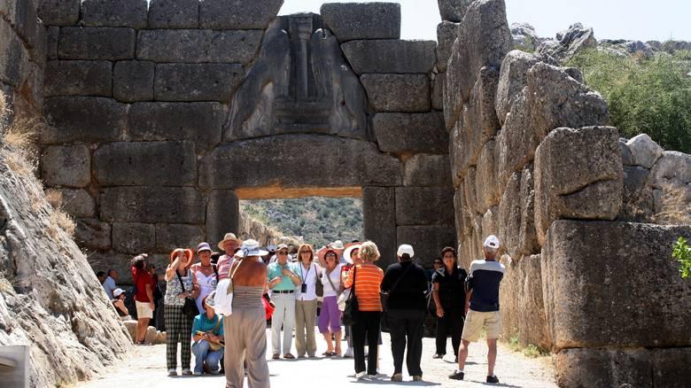 Ξενάγηση στον αρχαιολογικό χώρο των Μυκηνών