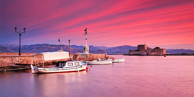 ωραιότερο ελληνικό ηλιοβασίλεμα