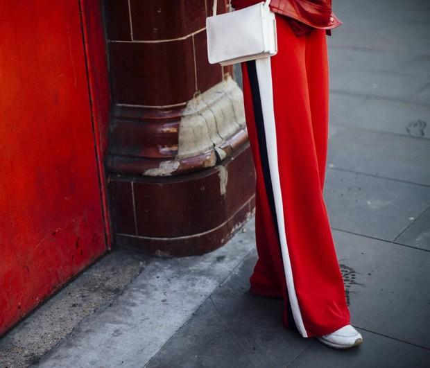 Κόκκινο παντελόνι