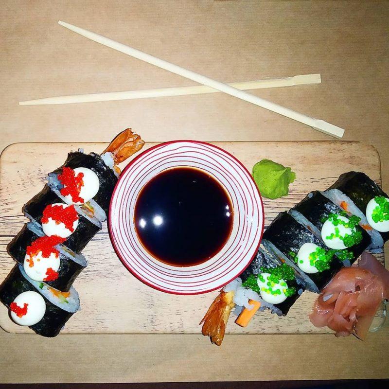 Sushi στο Κιάτο